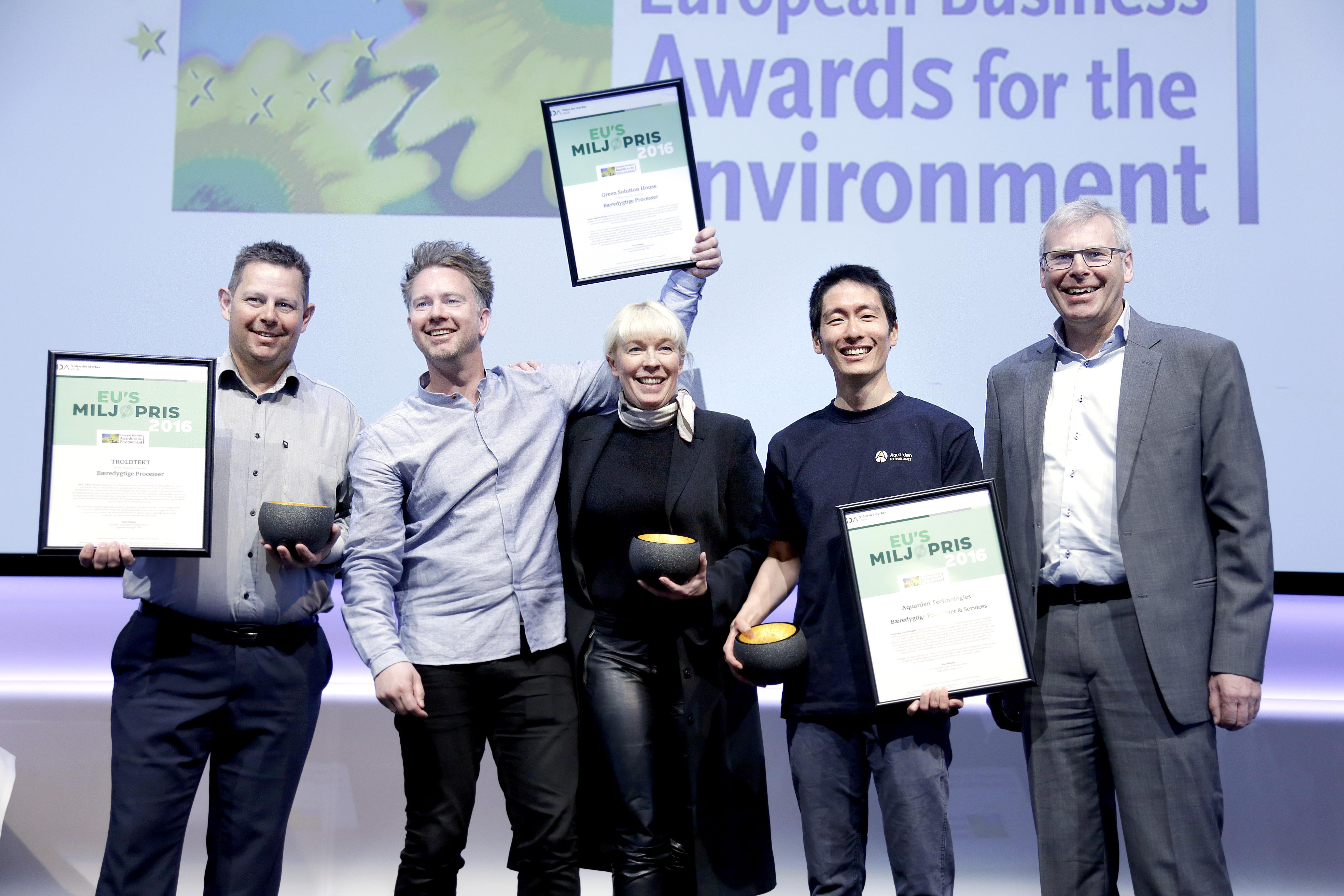 Aquarden receives EU-award